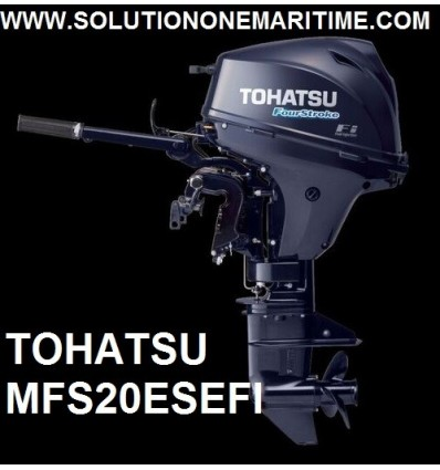 Tohatsu 20 HP 4-STK 2020 EFI Short Shaft [MFS20ES] Free Shipping