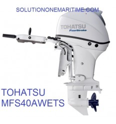Tohatsu 40 HP 4-STK 2018 EFI Tiller Electric Power Trim Short Shaft [MFS40AWETS] Not Shippable