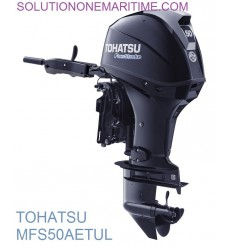 Tohatsu 50 HP 4-STK 2018 EFI Tiller Electric Power Trim Ultra Long Shaft [MFS50AETUL] Not Shippable