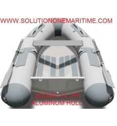 Zodiac Cadet 270 UL Aluminum RIB 2018 Model  PVC Z11211 Free Shipping