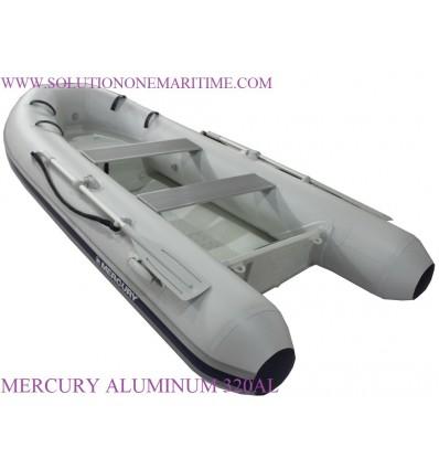 MERCURY 320 Aluminum RIB Gray PVC
