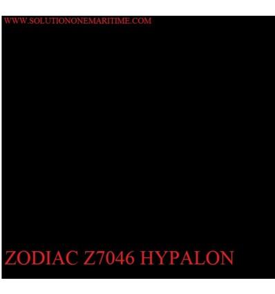 Zodiac Black Hypalon Z7046 Square Foot
