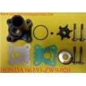 HONDA 06193-ZW9-020 Water Pump Kit BF8D & BF9.9D S & L Model 4-Stroke Model Honda