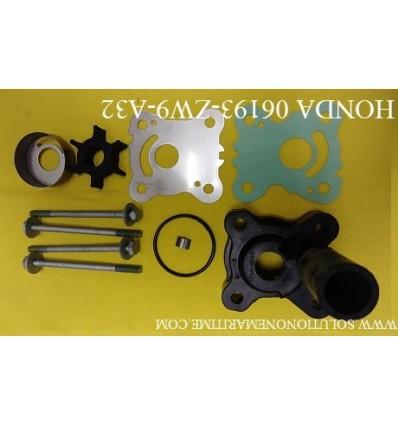 HONDA 06193-ZW9-A32 Water Pump Kit BF8D, BF9.9D,BF15D, & BF20D XL Model 4-Stroke Model Honda