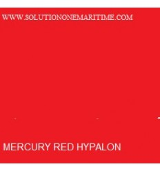 MERCURY Hypalon Material Red 1 Square Foot FT