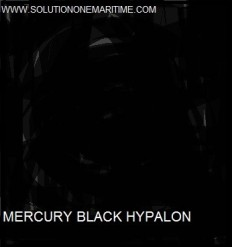 MERCURY Hypalon Material Black 1 Square Foot FT