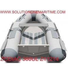 Zodiac Cadet 360 UL Aluminum RIB 2018 Model  PVC Z11214 Free Shipping