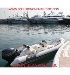Avon 400 Seasport Deluxe Rib with Tohatsu 50 hp EFI, 2019 Model, Hypalon
