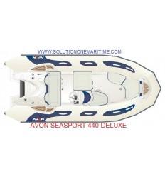 Avon 440 Seasport Deluxe Rib 2019 Model, Hypalon