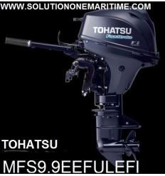 Tohatsu 9.9 HP 4-STK 2018 EFI Electric Tiller Ultra Long Shaft [MFS9.9EEFUL] Free Shipping