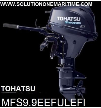 Tohatsu 9.9 HP 4-STK EFI Electric Tiller Ultra Long Shaft [MFS9.9EEFUL] Free Shipping