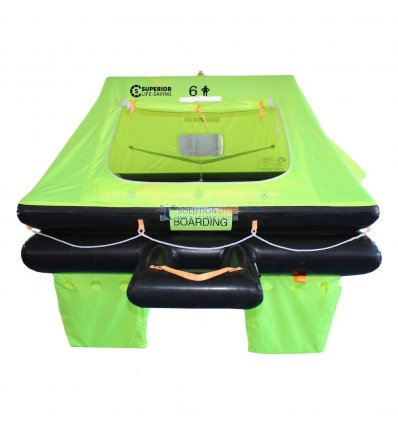 Superior Life-Saving OFFSHORE STREAM Life Raft 6 Person