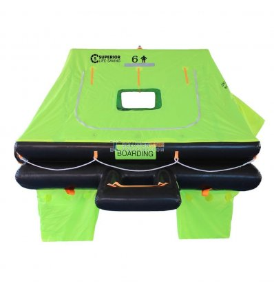 Superior Life-Saving WAVE RACER ISO Life Raft