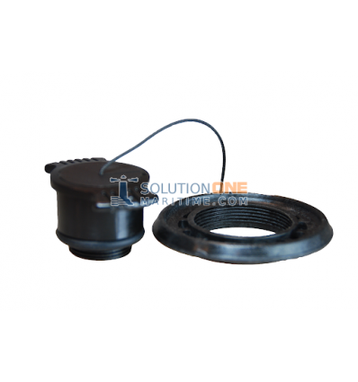 Zodiac Z60052 Valve Cap & Ring Black