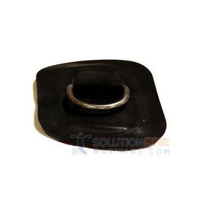 Zodiac Z2332 D-Ring Hypalon Black 53mm Oval Uncoated