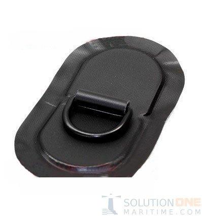 Zodiac Z65030 D-Ring PVC Black 53mm Oval Coated