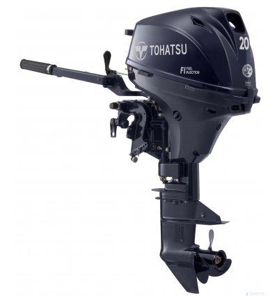 Tohatsu 20 HP 4-Stroke Outboard Motor EFI Long Shaft  [MFS20EL]