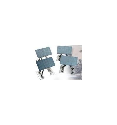 "Weaver Standard 8"" High Dinghy Chocks with 3.5 x7 Pads C1008"