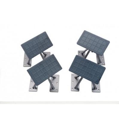 "Weaver Universal 6"" High Swivel Dinghy Chocks with 3.5 x 7 Pads C1207"