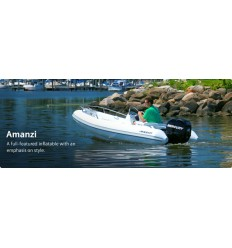 350 Amanzi Deluxe Rib with Mercury 40 hp EFI, 2017Model, Hypalon + $200.00 Rebate