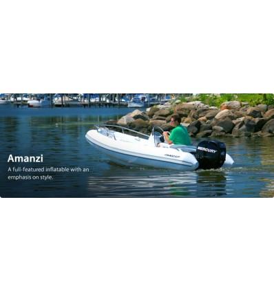 350 Amanzi Deluxe Rib with Mercury 40 hp EFI, 2019 Model, Hypalon