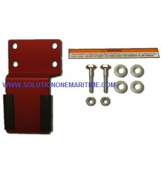 3GR625000M STEERING LOCK KIT - 4/5/6HP 4-STROKE MODEL, Tohatsu, Nissan, Mercury and Evinrude