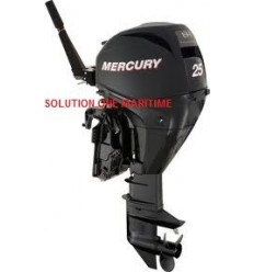 Mercury 25 HP 4-STK 2012 Manual Start Short Shaft [ME20SHS4S] Free Shipping