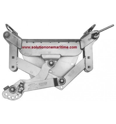 Weaver Lever MOTOR BRACKET FOR TRANSOMS OF DINGHIES
