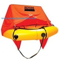 REVERE AERO Compact Life Raft 4 Person W/CANOPY Valise [45-AC4V] Free Shipping
