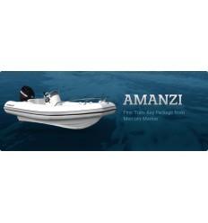 Mercury 400 Amanzi Deluxe Rib with Mercury 50 hp EFI, 2013Model, Hypalon