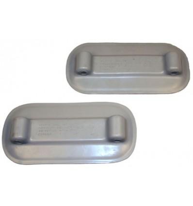 Weaver RP101 Davit Pads Grey (Pair)