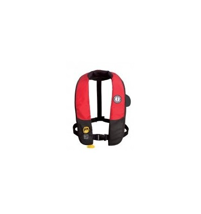 Inflatable PFD MD3183 w/ HIT (hydrostatic activation) Red/Black [MD3183]