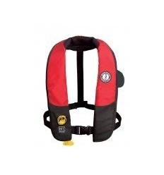 Inflatable PFD MD3184 w/ HIT (hydrostatic activation) Red/Black [MD3184]