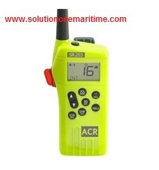 ACR SR203 Survival Radio Kit, ATIS Programable, VHF Multi-Channel, 2829