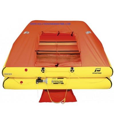 Plastimo Crusier Standard Life Raft 6 Person Valise [P54586]
