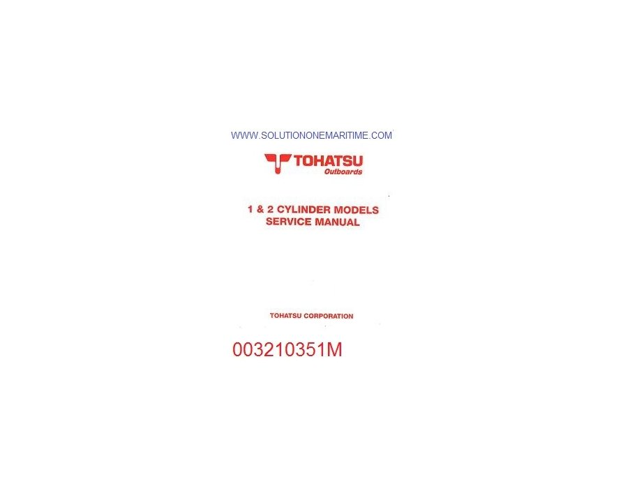 tohatsu service manual free