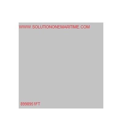 MERCURY PVC Material Gray 1 Square Foot 8998951FT