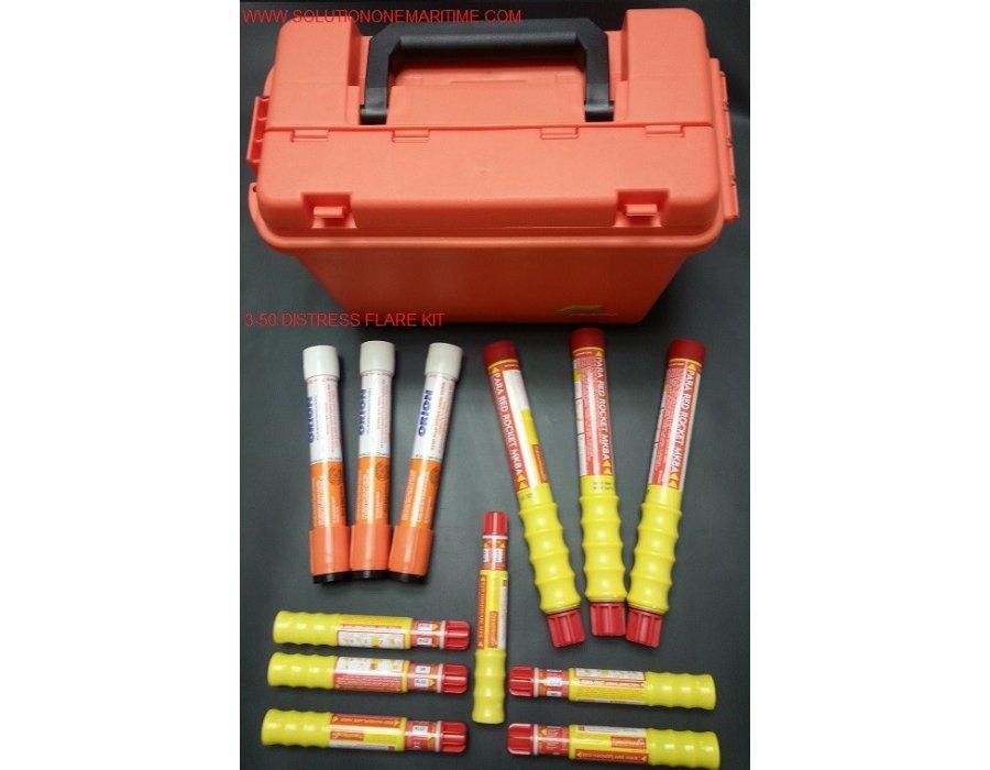 Uscg 3 50 Mile Distress Flare Kit Free Shipping
