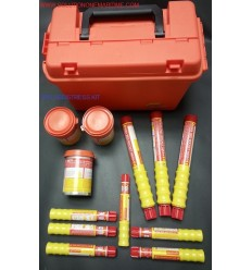 USCG/SOLAS 50 Mile + Distress Flare Kit FREE SHIPPING