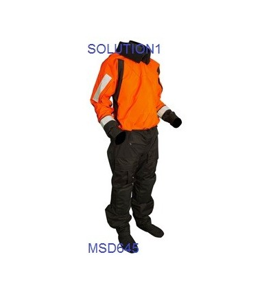 Mustang MSD645 Sentinel Series Heavy Duty Boat Crew Dry Suit (Female) Bumpity Bit Model