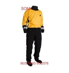 Mustang MSD576 Water Rescue Dry Suit Adjustable Neck Seal
