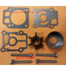 361873220M Water Pump Kit 25C3, 25C3, 30A3, 30A4 & 40C  hp 2 Stroke models NISSAN/TOHATSU