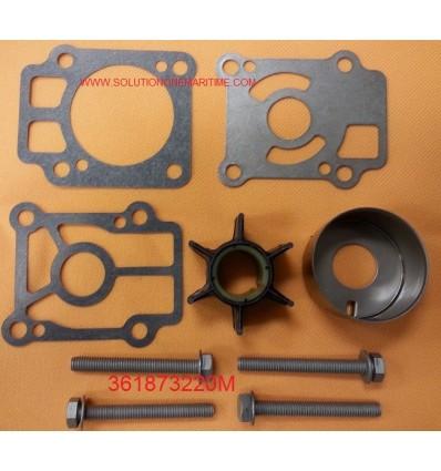 361873220M Water Pump Kit 25C2, 25C3, 30A3, 30A4 & 40C  hp 2 Stroke models NISSAN/TOHATSU