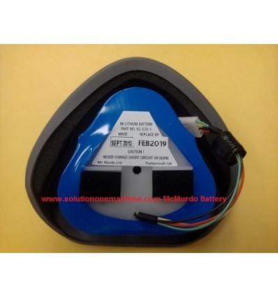 MCMURDO EPIRB Battery Replacement Free Return Shipping