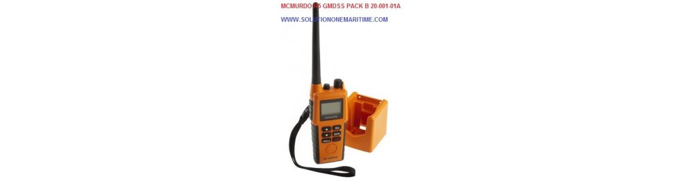 McMurdo Survival VHF Radios & Accessories
