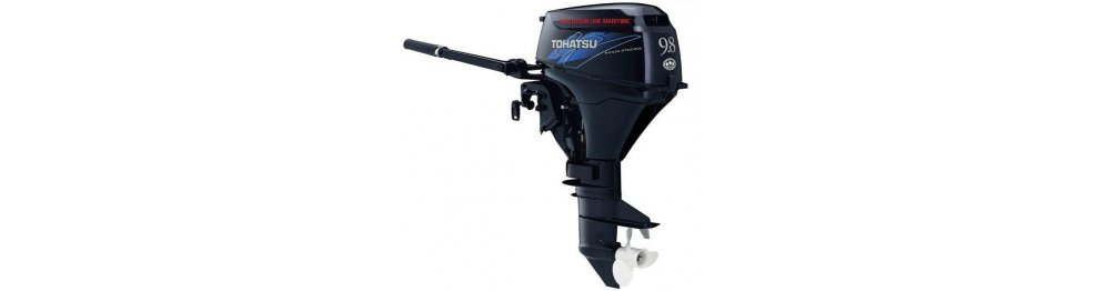 Tohatsu Outboards 8 HP-9.8 HP