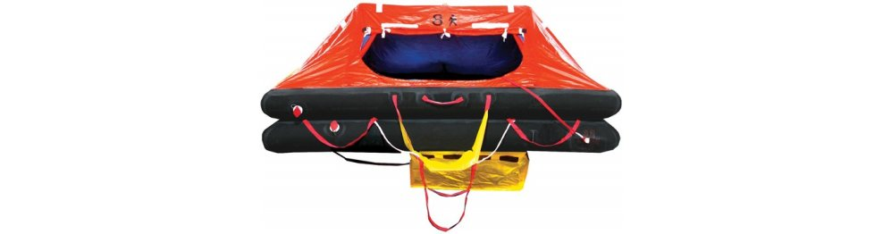 Commercial USCG SOLAS Life Rafts