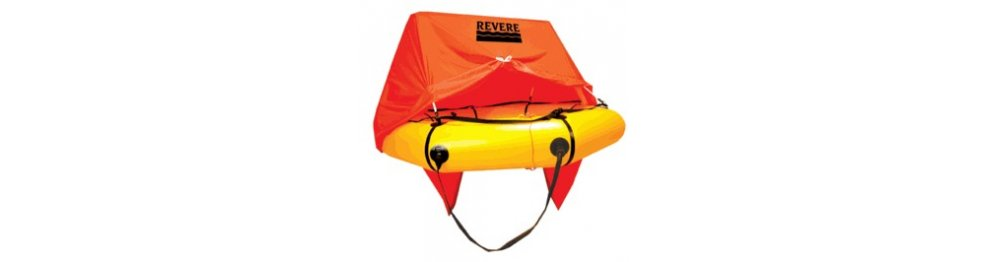 REVERE LEISURE & YACHTING LIFE RAFTS